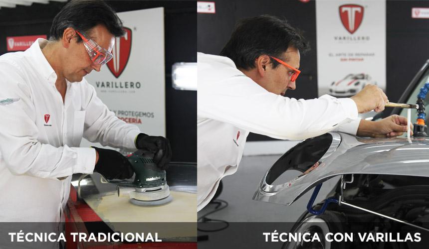 Ventajas de la técnica de Varilleros.